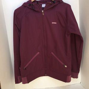 Dakine jacket maroon size large full zip